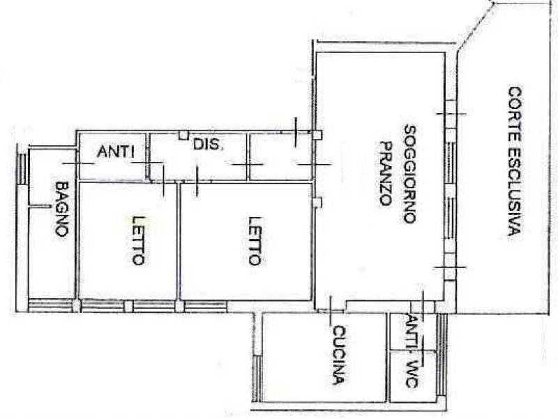 Appartamento in vendita a Cesena, 4 locali, prezzo € 350.000 | Cambio Casa.it
