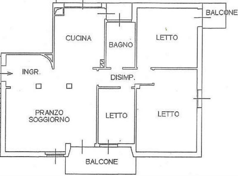 In Vendita Appartamento a Cesena