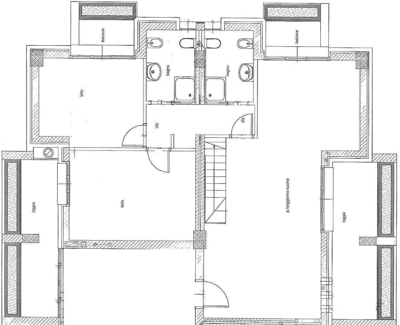 Attico / Mansarda in vendita a Cesena, 6 locali, prezzo € 485.000 | Cambio Casa.it