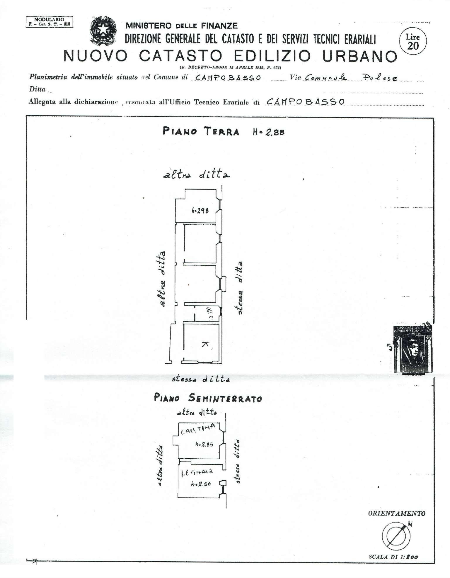 campobasso vendita quart:  stigliani immobiliare srl