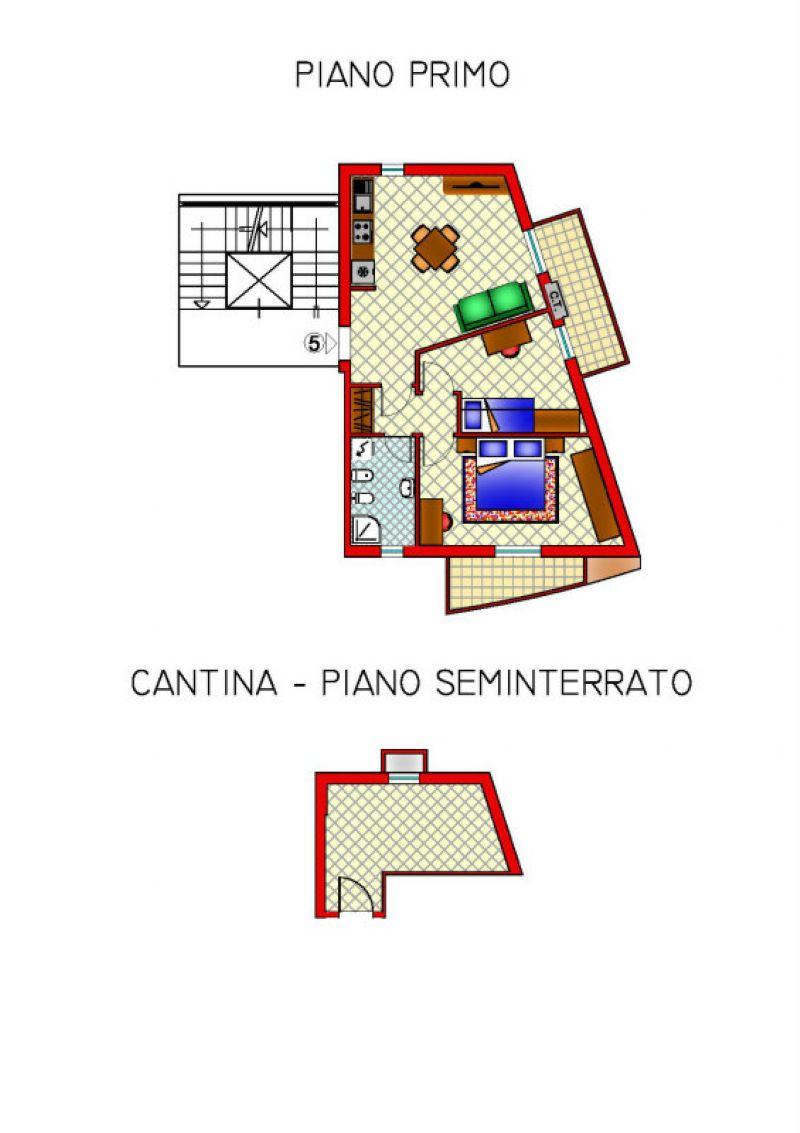 Appartamento in vendita a Cattolica, 3 locali, prezzo € 200.000   Cambiocasa.it