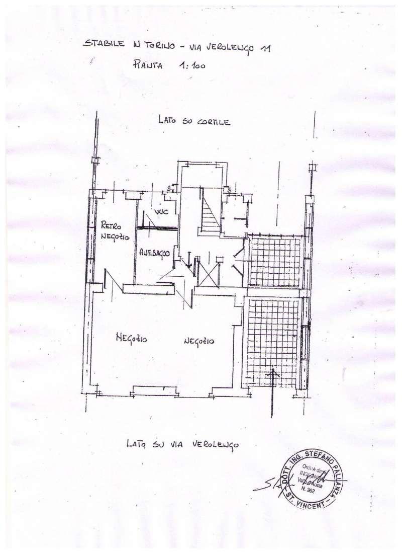 Negozio in affitto Zona Madonna di Campagna, Borgo Vittoria... - via verolengo 11 Torino