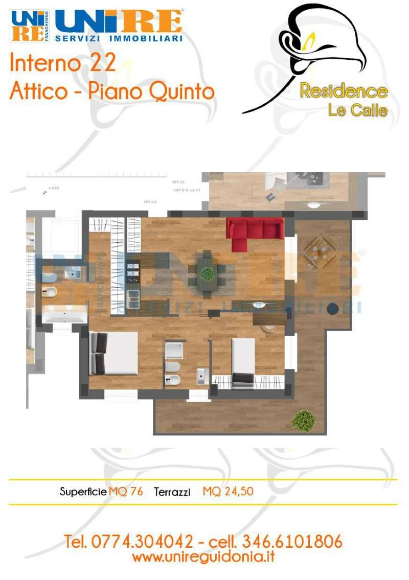 Attico / Mansarda in vendita a Guidonia Montecelio, 3 locali, prezzo € 165.000 | CambioCasa.it