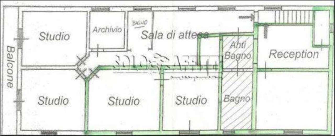 Ufficio / Studio in affitto a Pistoia, 5 locali, prezzo € 1.350 | CambioCasa.it