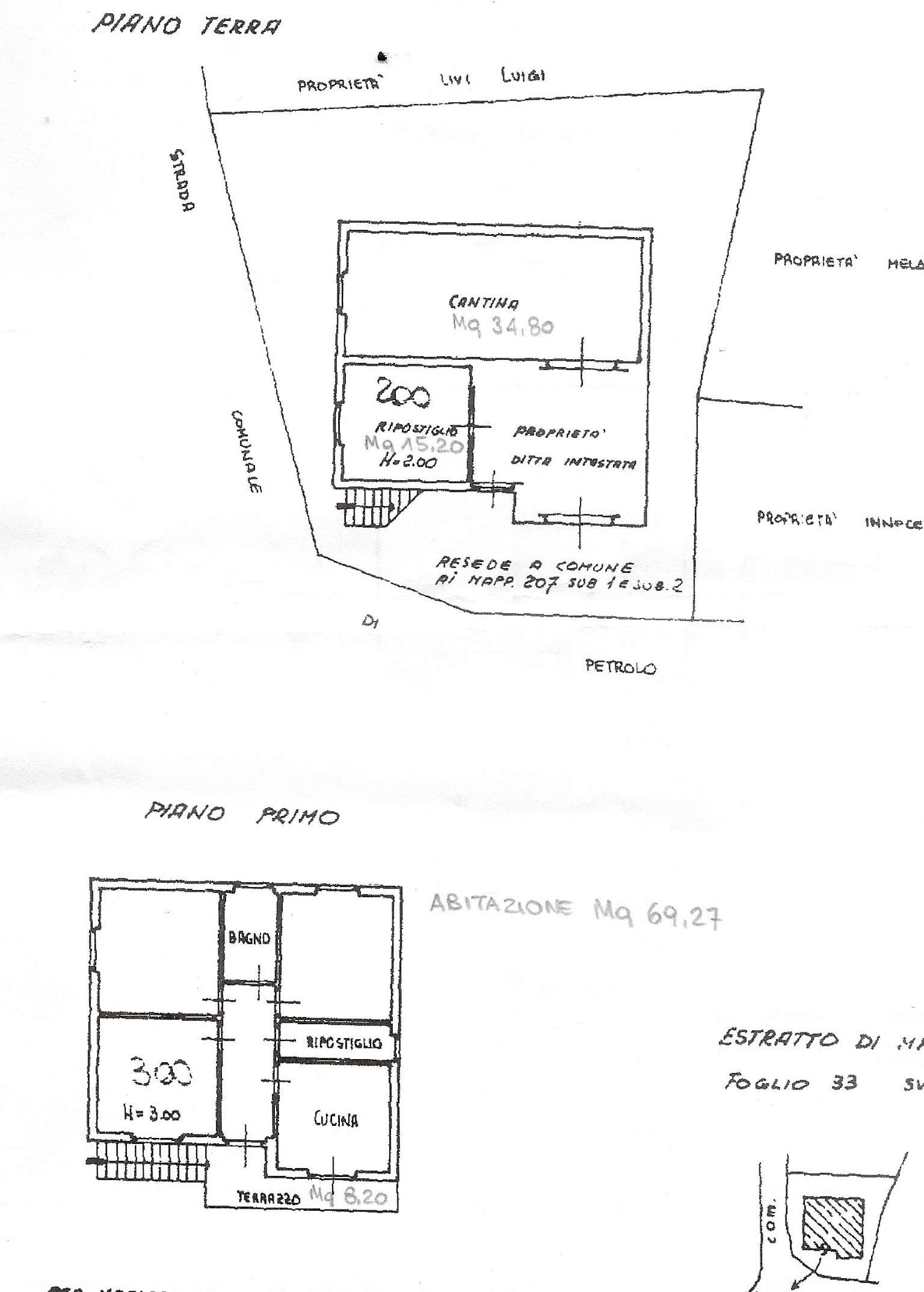 Soluzione Indipendente in vendita a Marliana, 8 locali, prezzo € 140.000 | Cambio Casa.it