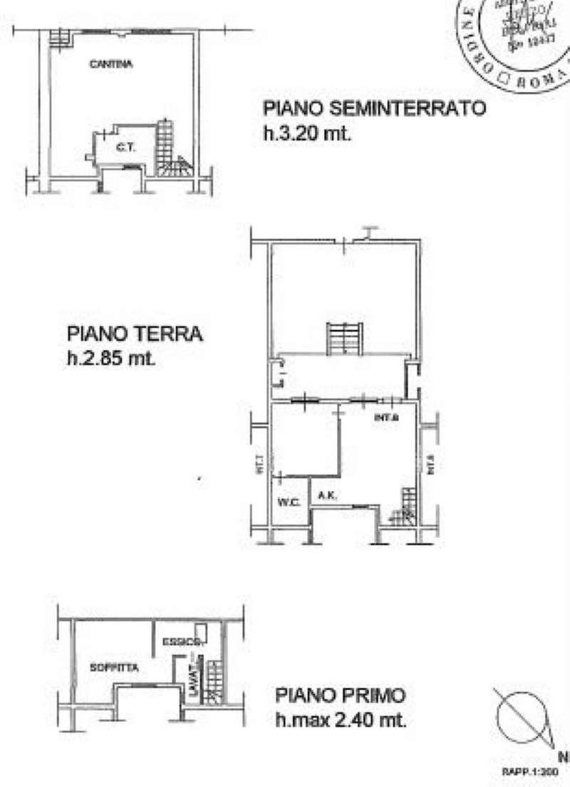 Foto 21 di Villa a Schiera via MITTA 6, Roma (zona Finocchio - Torre Gaia - Tor Vergata)