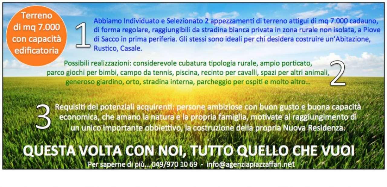 Terreno Edificabile Residenziale in vendita a Piove di Sacco, 9999 locali, Trattative riservate | CambioCasa.it