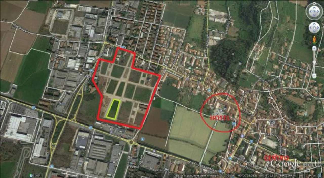 Terreno Edificabile Residenziale in vendita a Rezzato, 9999 locali, prezzo € 120.000   CambioCasa.it