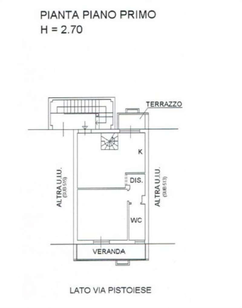 Vendita  bilocale Campi Bisenzio Corte Via Pistoiese 1 949408