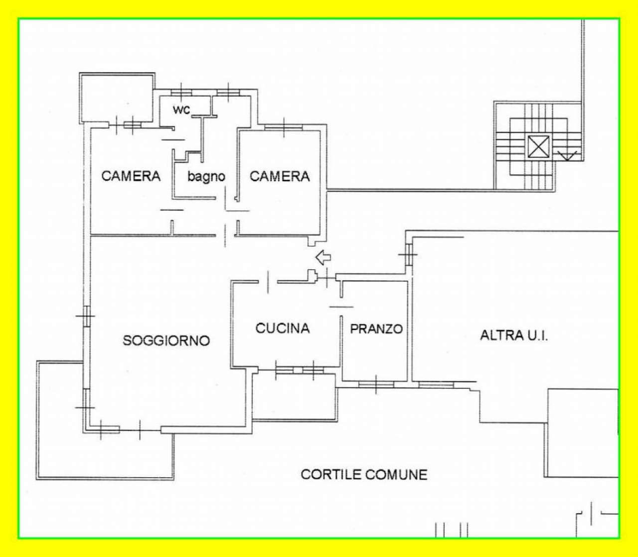 Appartamento in vendita a Pino Torinese, 5 locali, prezzo € 335.000 | CambioCasa.it