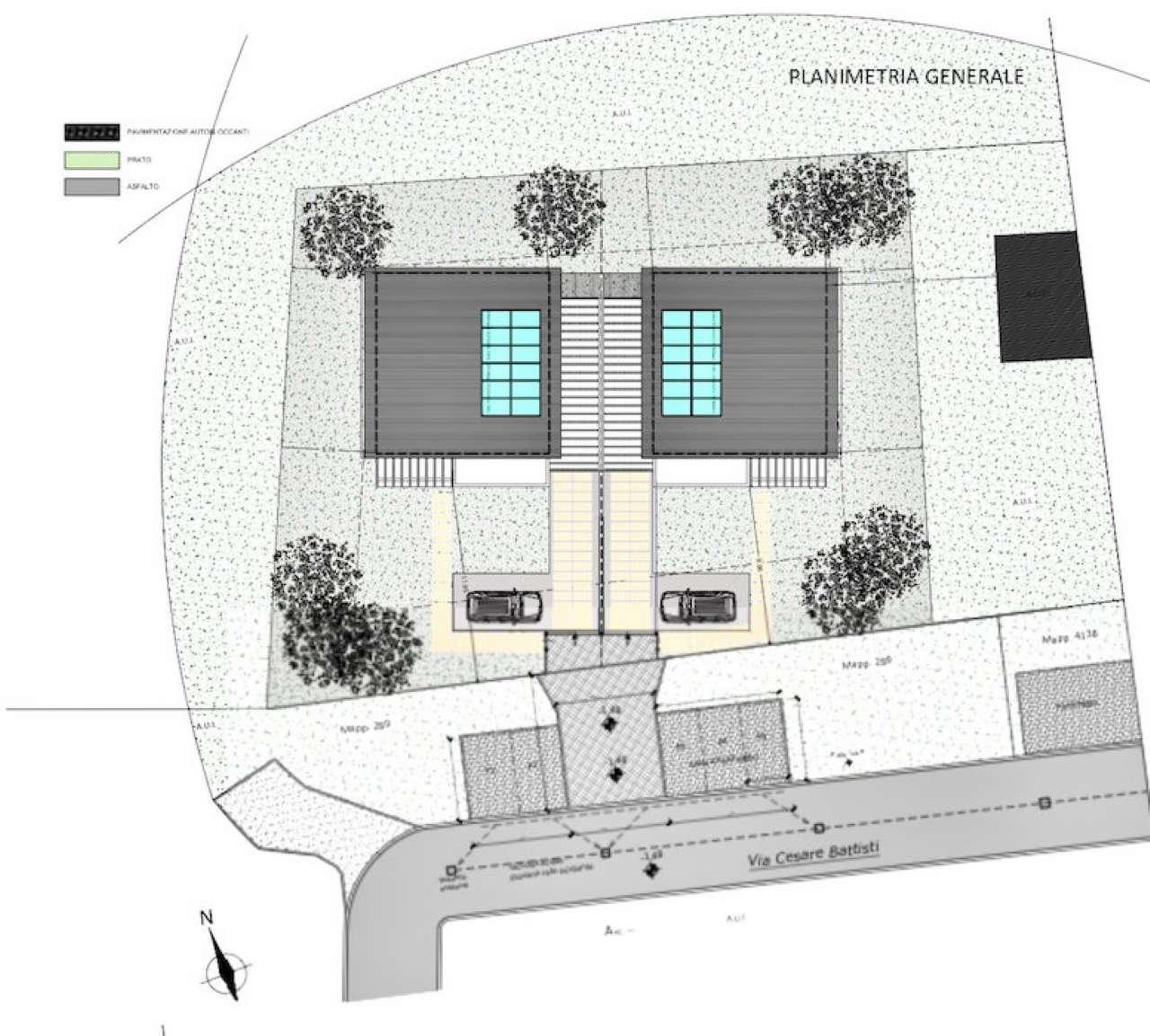 Villa Bifamiliare in Vendita a Travedona-Monate