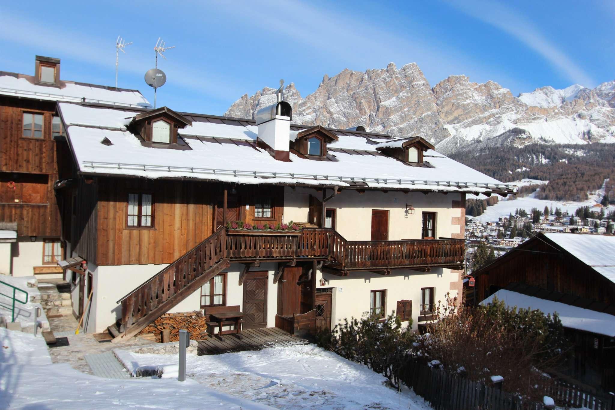 Appartamento bilocale in vendita a Cortina d'Ampezzo (BL)