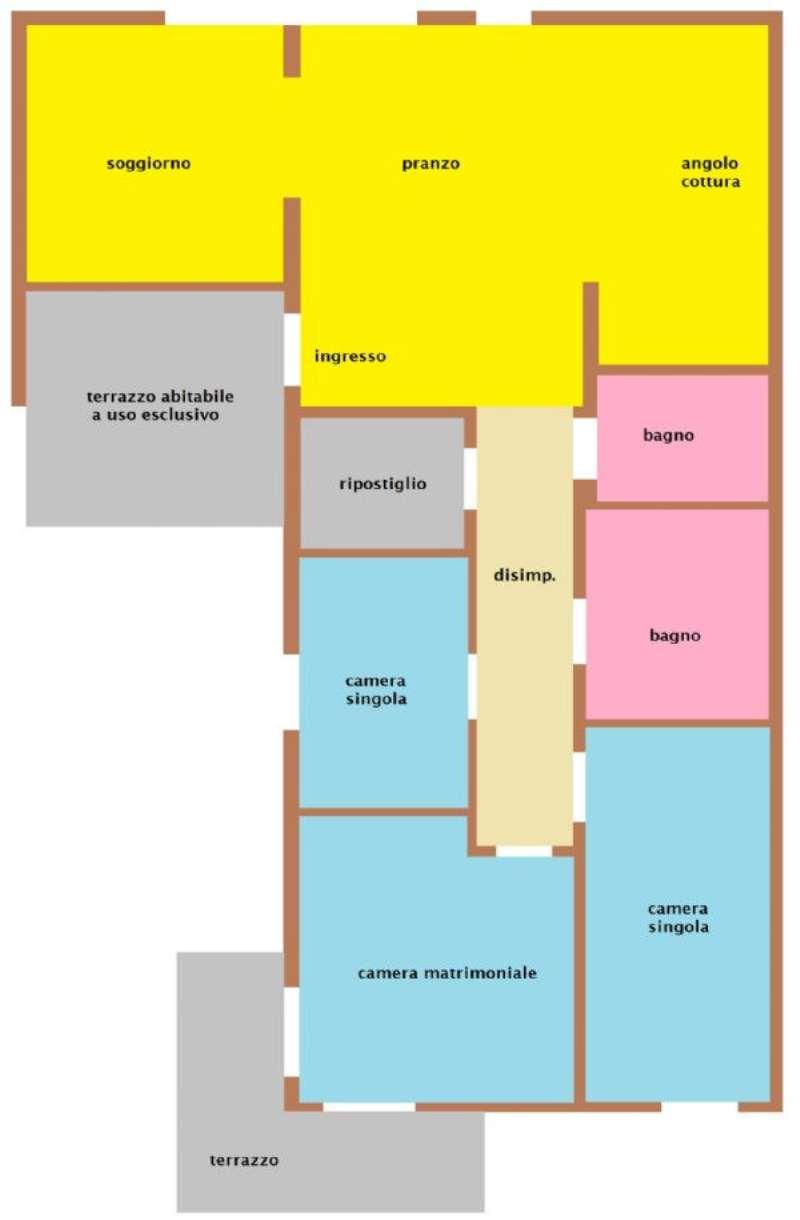 Appartamento in vendita a Villorba, 5 locali, prezzo € 152.000 | Cambio Casa.it