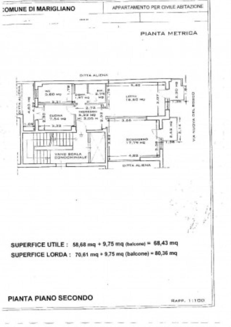 Vendita  bilocale Marigliano Via Nuova Del Bosco 1 956061