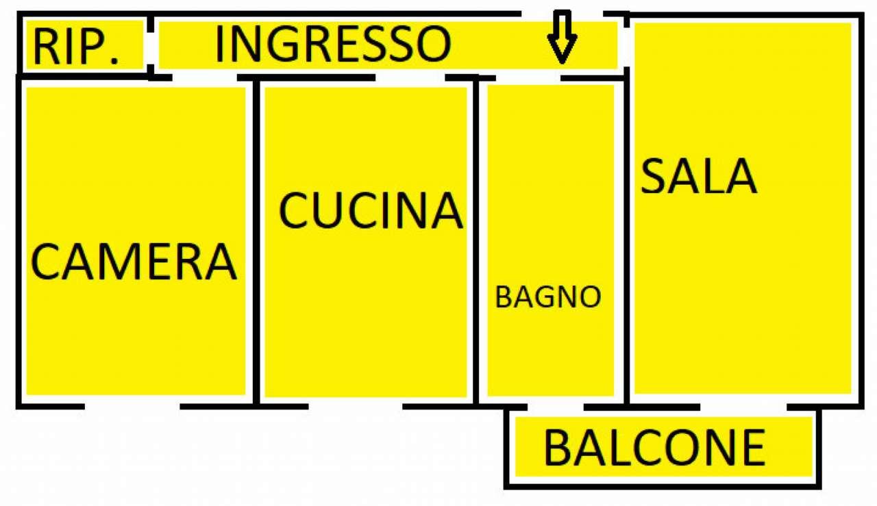 Vendita  bilocale Cinisello Balsamo Via Robecco 1 1434504