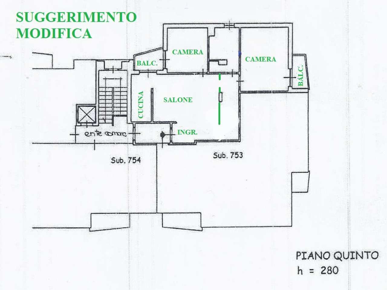 Vendita  bilocale Cinisello Balsamo Via Robecco 1 1422165