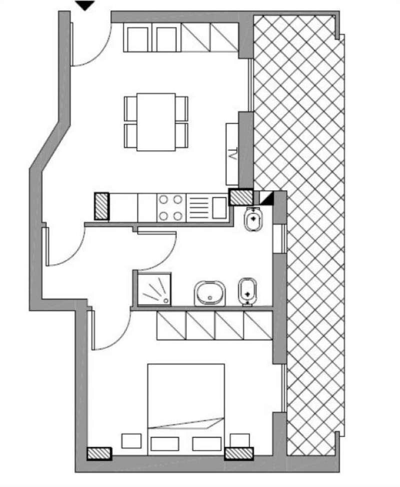 Appartamento in vendita a Alghero, 2 locali, prezzo € 130.000 | Cambio Casa.it
