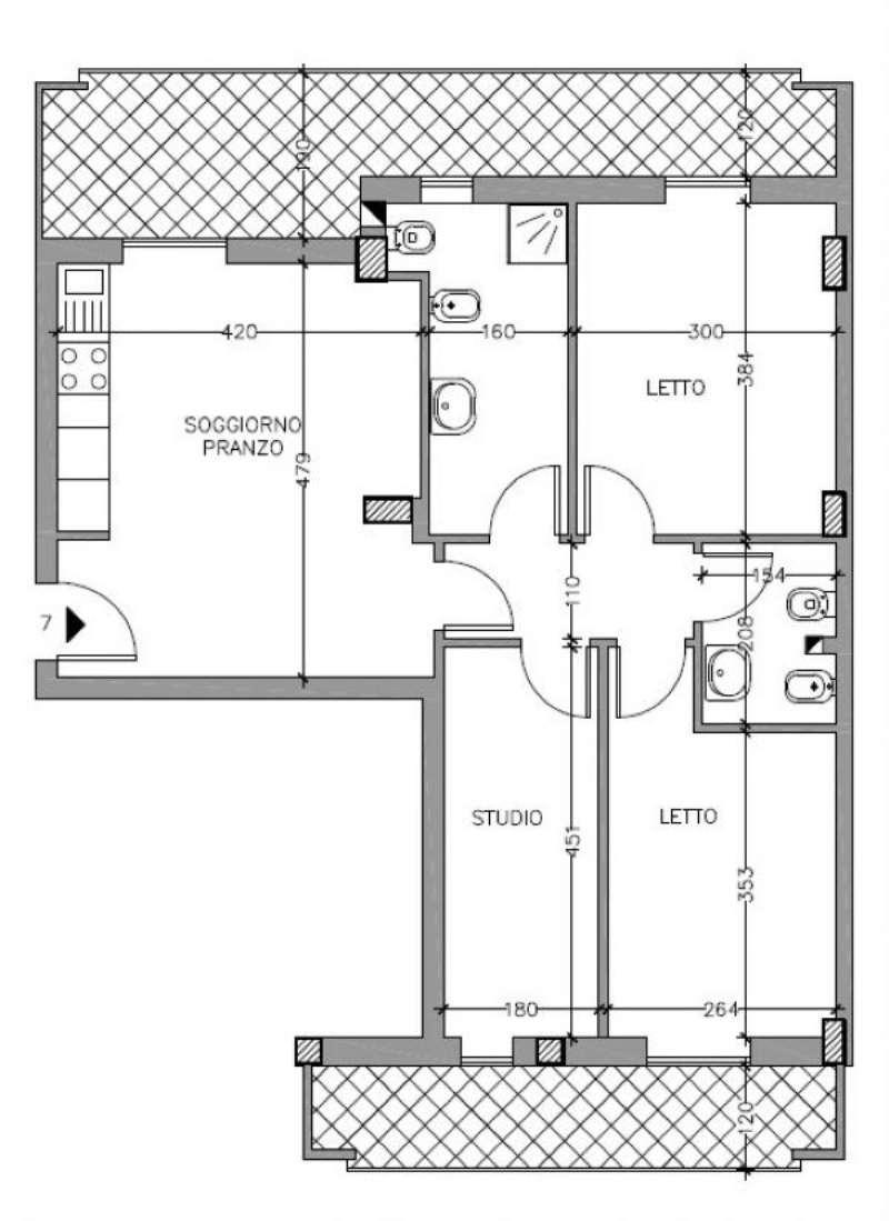 Appartamento in vendita a Alghero, 4 locali, prezzo € 230.000 | Cambio Casa.it