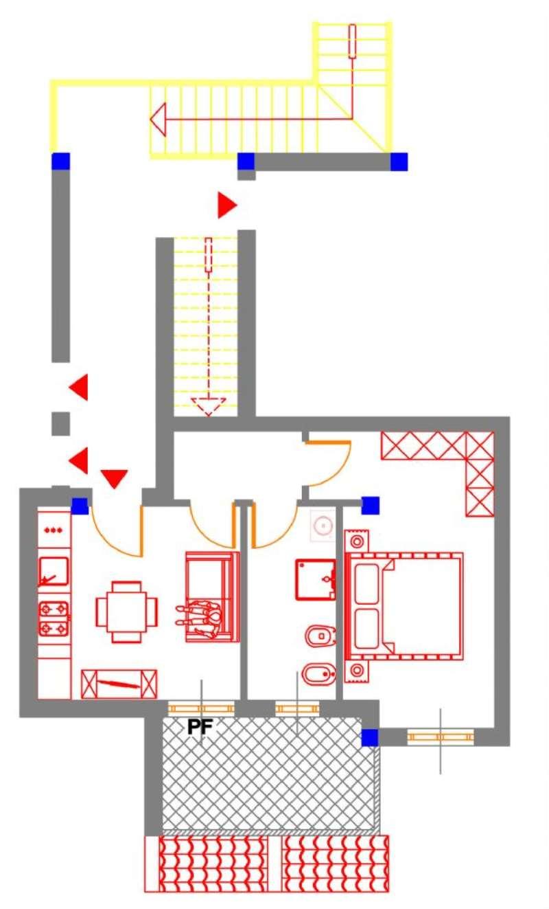 Appartamento in vendita a Alghero, 2 locali, prezzo € 105.000 | Cambio Casa.it