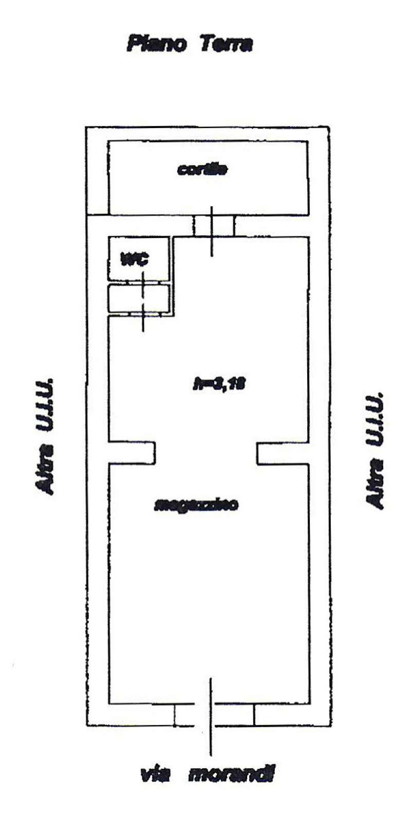 Loft / Openspace in Vendita a Alghero