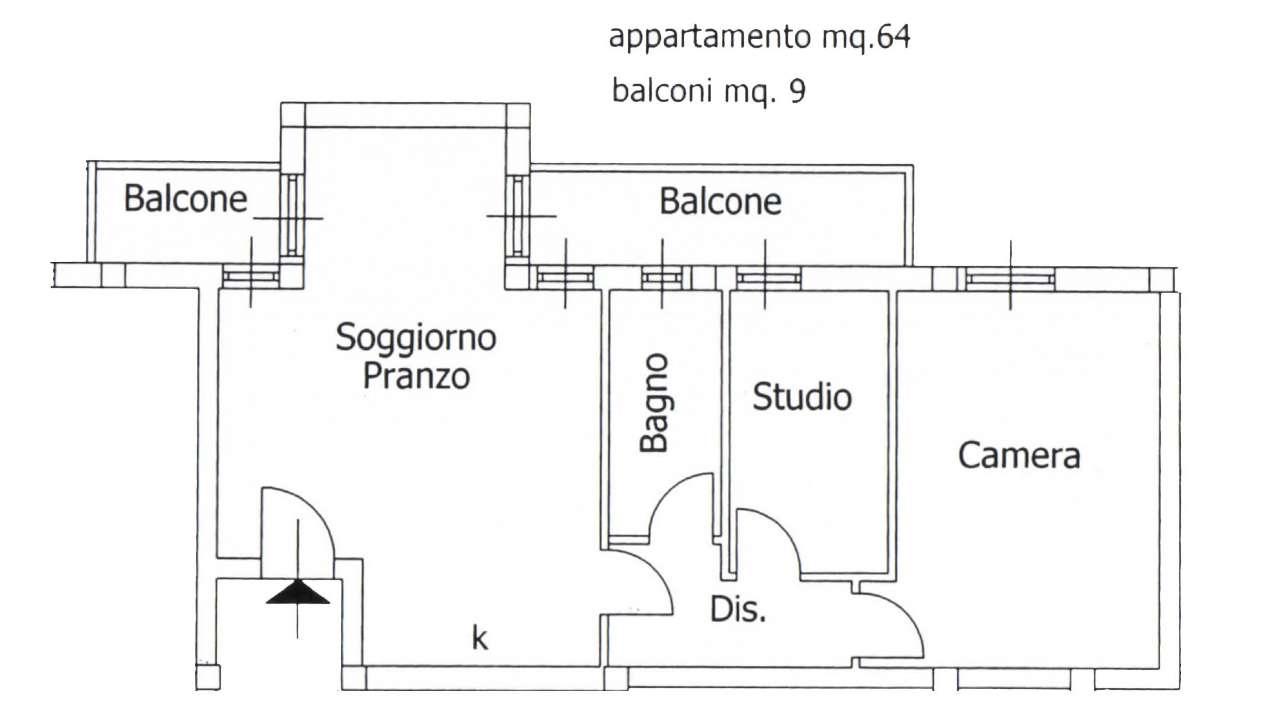 Appartamento in vendita a Alghero, 3 locali, prezzo € 130.000 | Cambio Casa.it