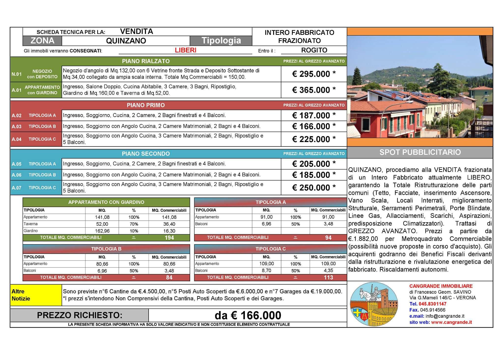 Appartamento, Quinzano, Vendita - Verona
