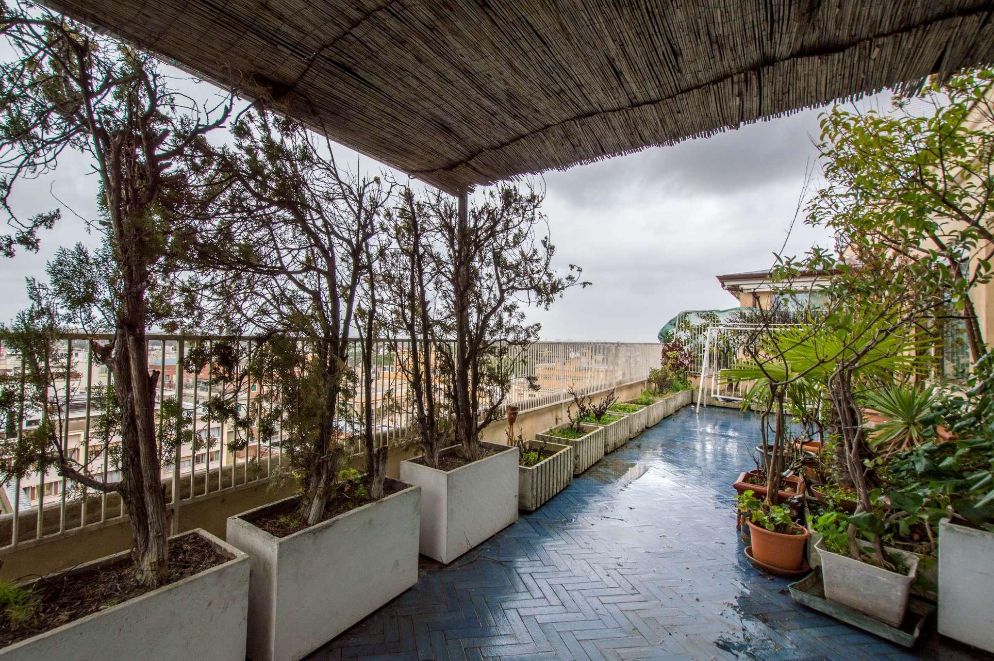 Attico in affitto a Roma in Via Salaria