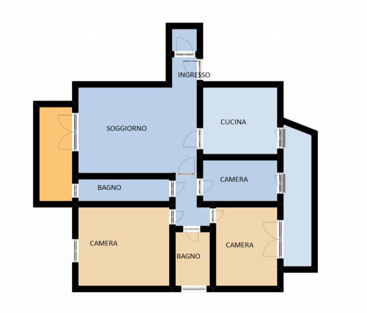 Appartamento in vendita a Spinea, 5 locali, prezzo € 155.000 | Cambio Casa.it