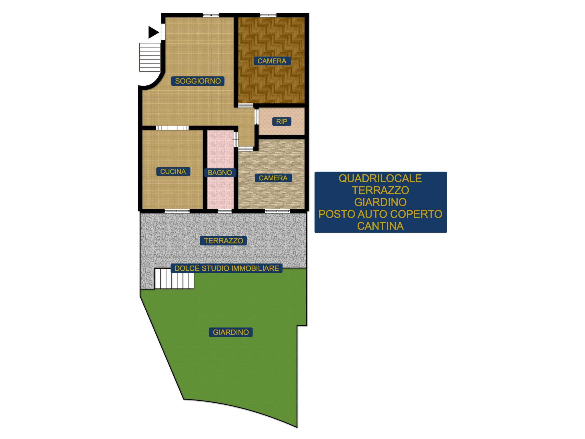 Appartamento in vendita a Santa Margherita Ligure, 4 locali, prezzo € 305.000 | CambioCasa.it
