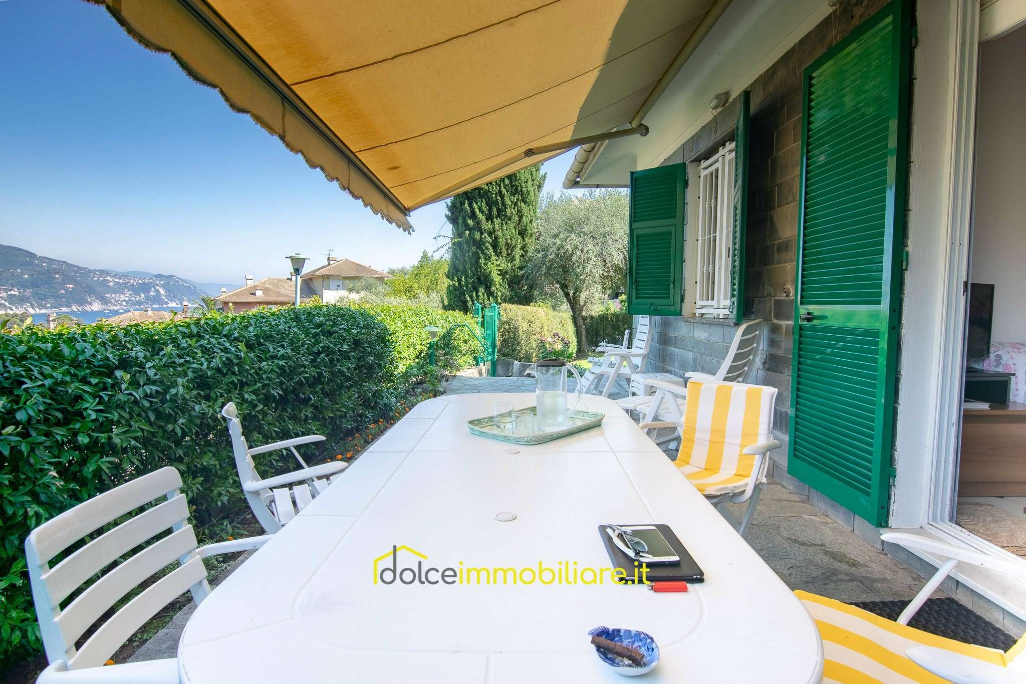 Foto 1 di Villetta a schiera via montemezzana, frazione San Michele Di Pagana, Rapallo