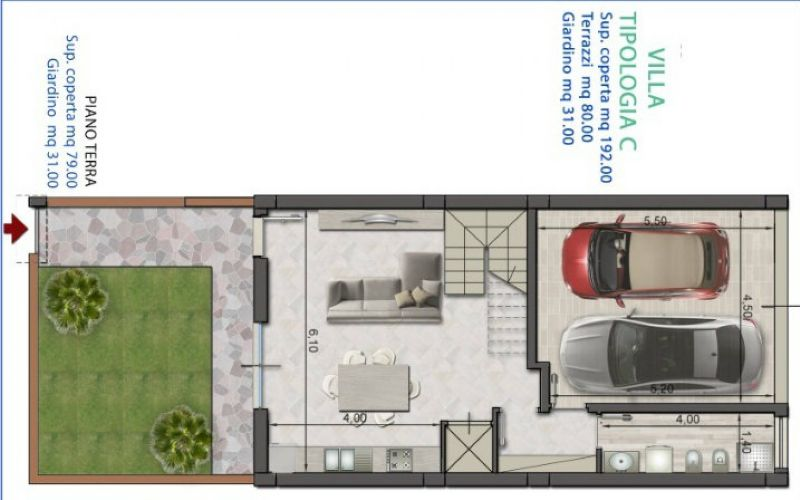Villa in vendita a Volla, 9999 locali, prezzo € 305.000 | CambioCasa.it