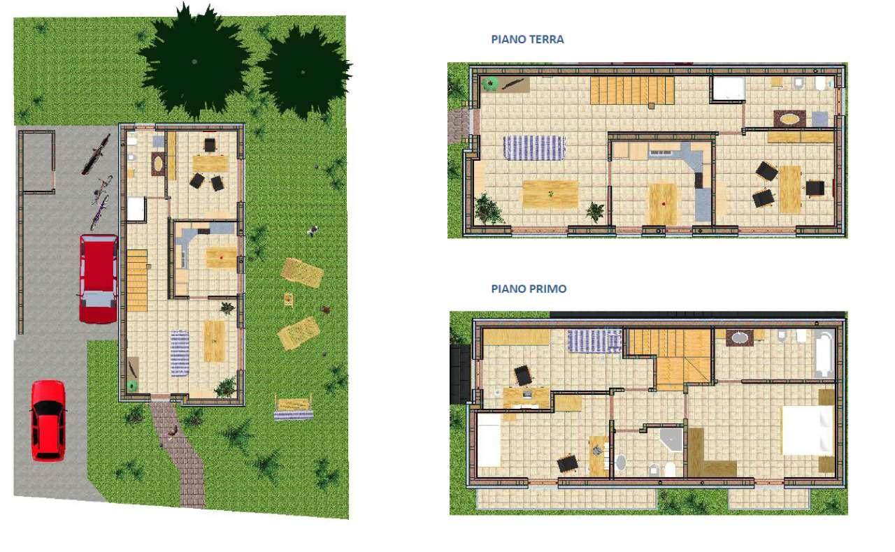 Villa in vendita a Cassano Magnago, 8 locali, prezzo € 335.000 | Cambio Casa.it