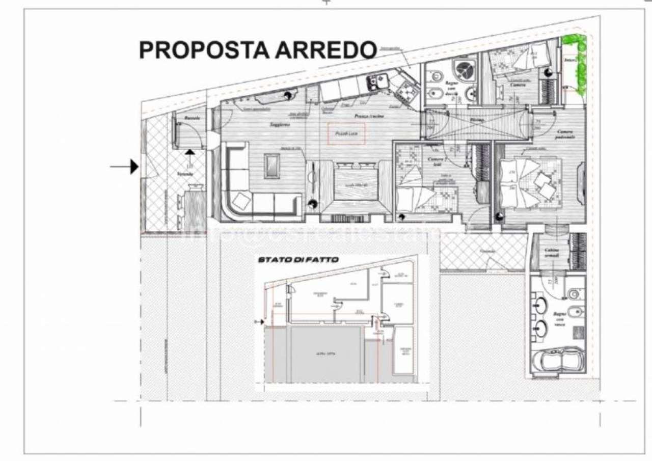 Appartamento in vendita a Cortina d'Ampezzo, 3 locali, Trattative riservate | Cambio Casa.it