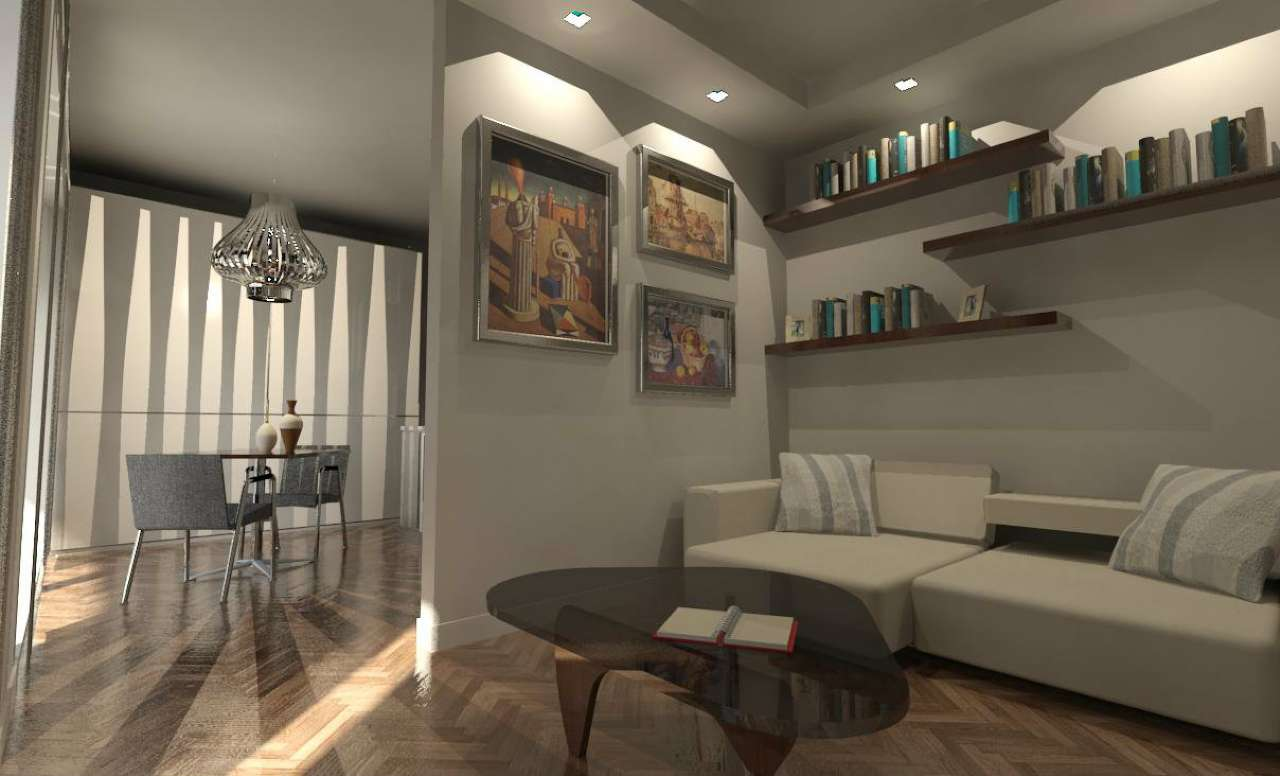 Appartamento in Vendita a Milano 17 Marghera / Wagner / Fiera: 3 locali, 99 mq