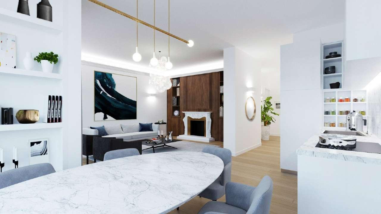 Appartamento in Vendita a Milano 12 Argonne / Indipendenza / Ascoli: 3 locali, 105 mq