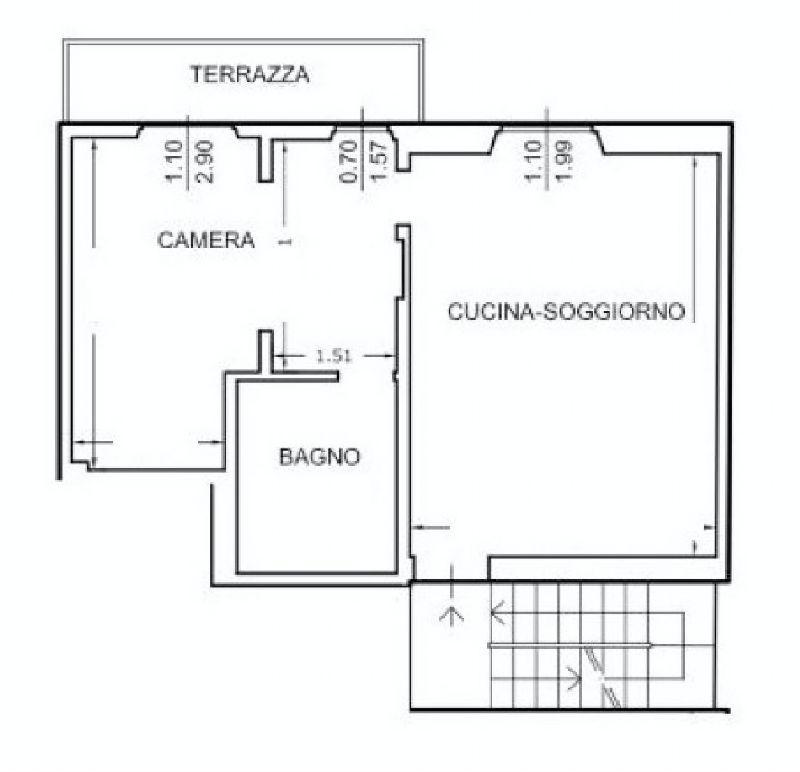 Bilocale Firenze Via Masaccio 1