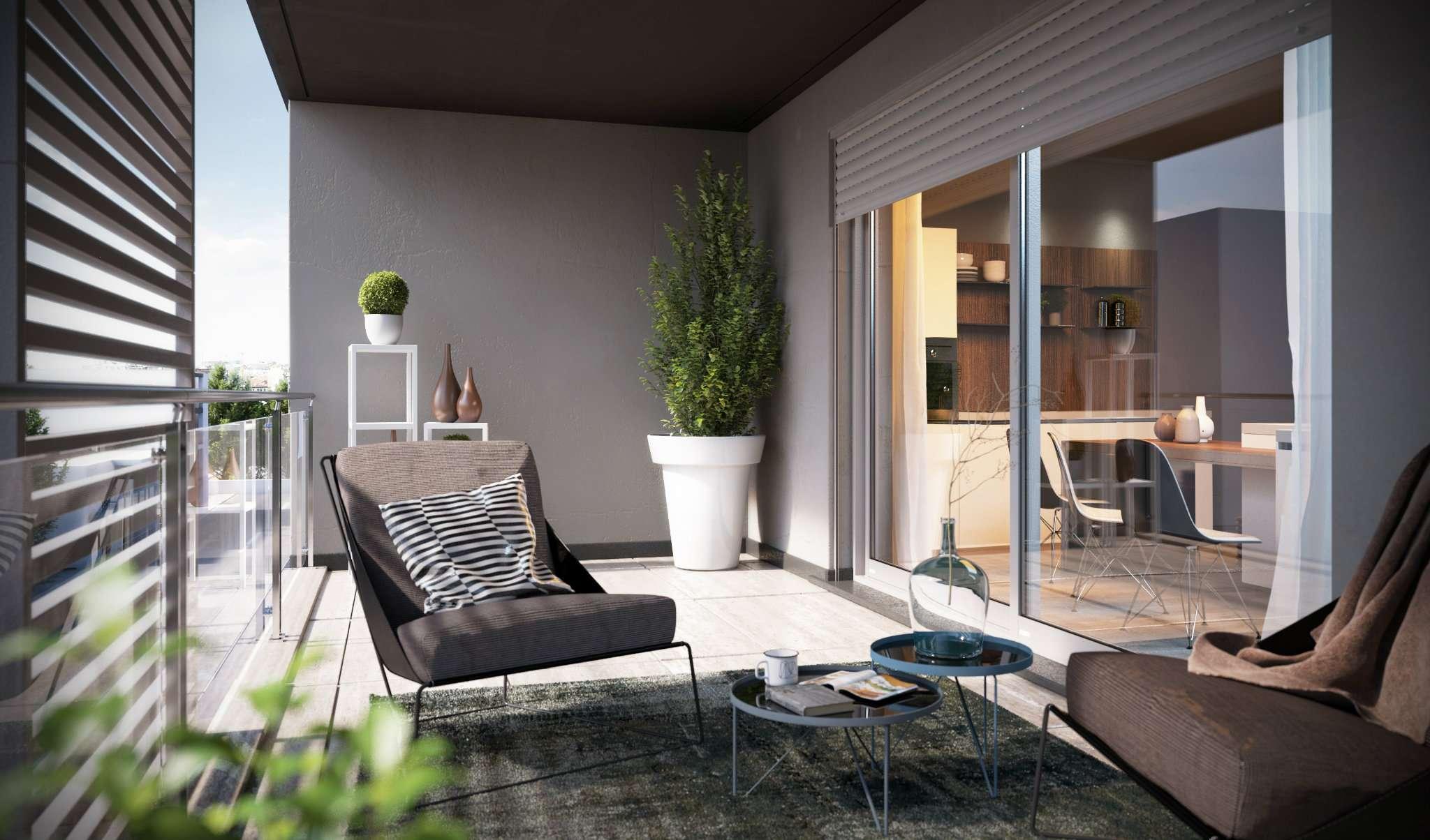 Appartamento di lusso in vendita a milano via newton for Bilocale arredato milano