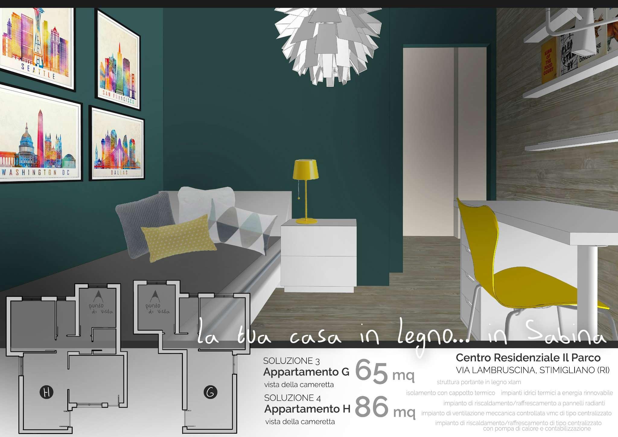 Appartamento in vendita a Stimigliano, 3 locali, prezzo € 130.000 | CambioCasa.it