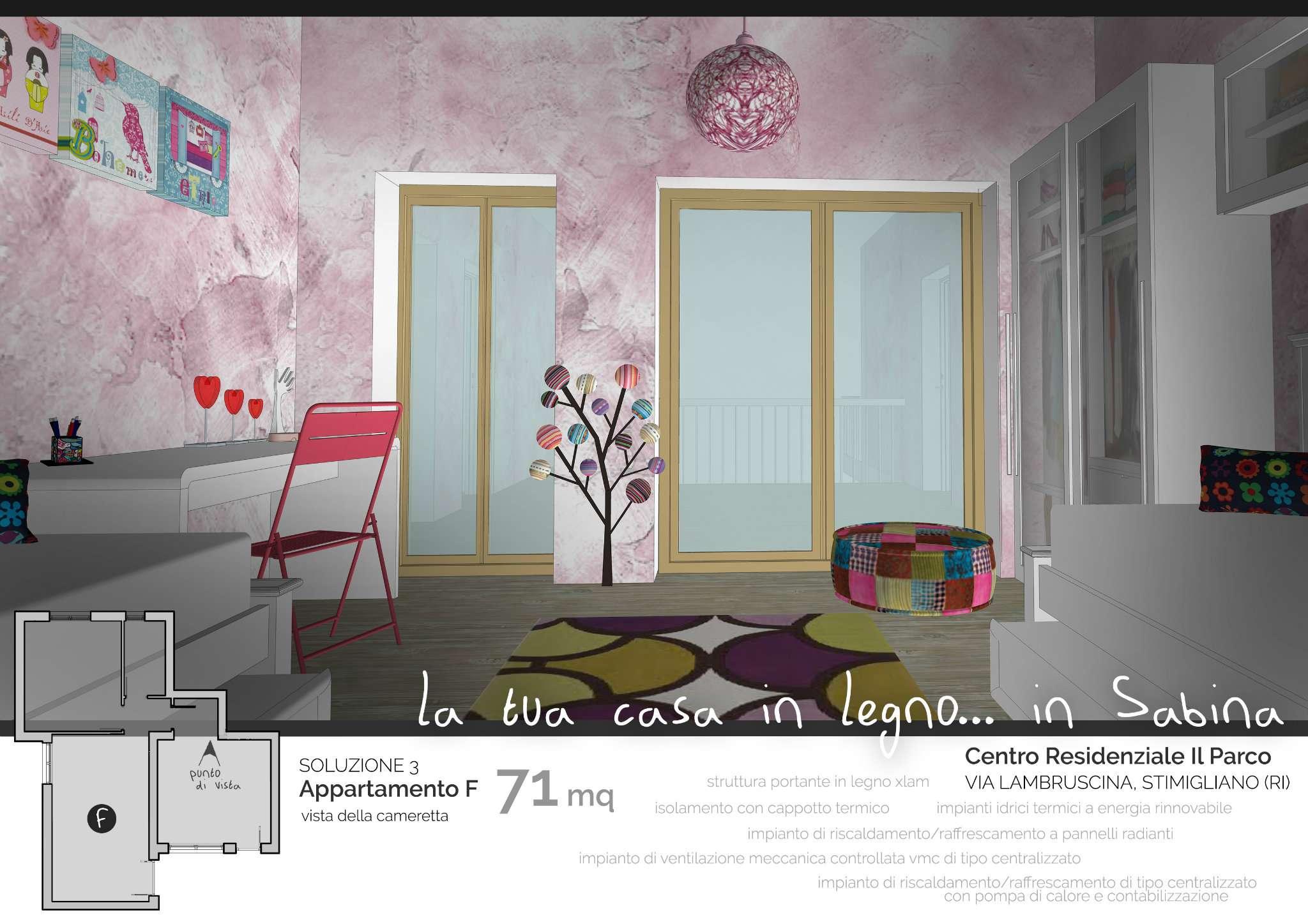 Appartamento in vendita a Stimigliano, 3 locali, prezzo € 142.000 | CambioCasa.it