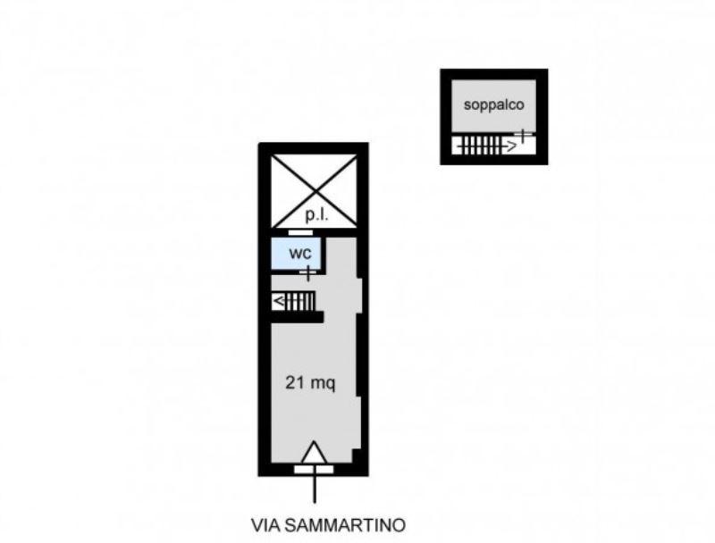 Negozio-locale in Vendita a Palermo: 3 locali, 47 mq