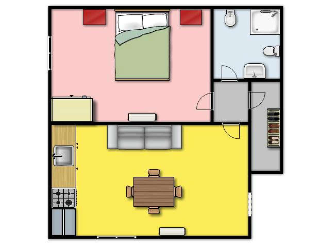 Appartamento in Affitto a Ustica: 2 locali, 50 mq