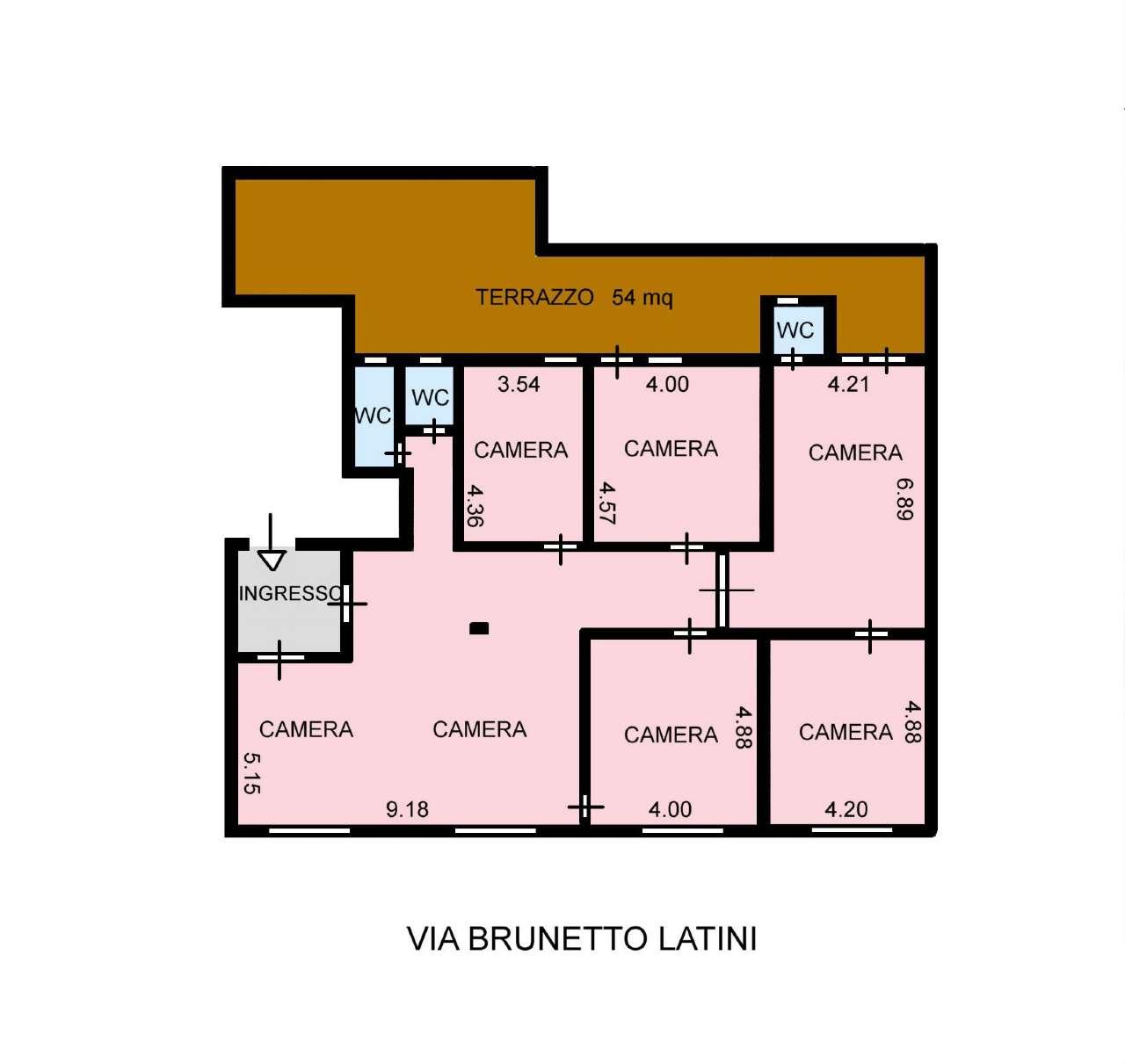 Appartamento in Affitto a Palermo: 200 mq