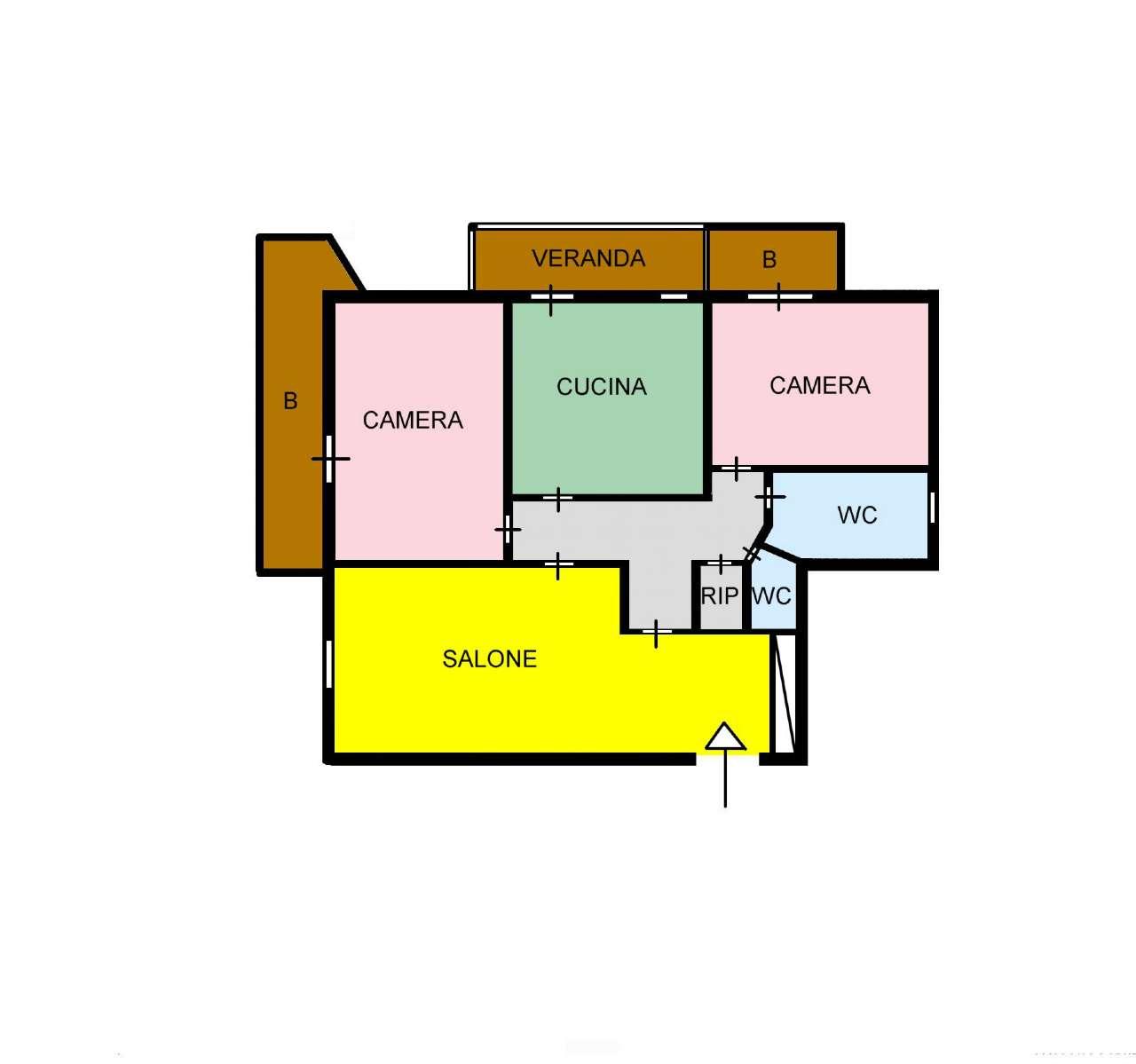 Appartamento in Affitto a Palermo: 4 locali, 120 mq