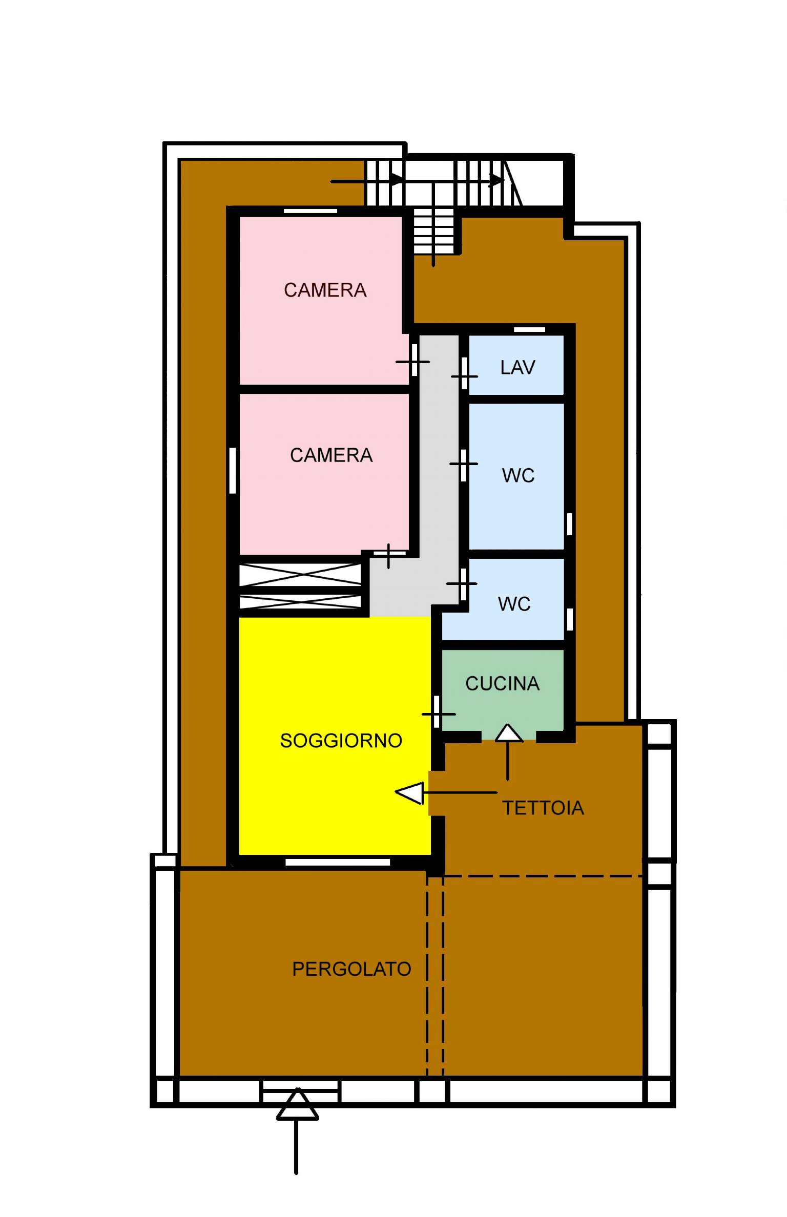 Villa in Vendita a Ustica: 85 mq