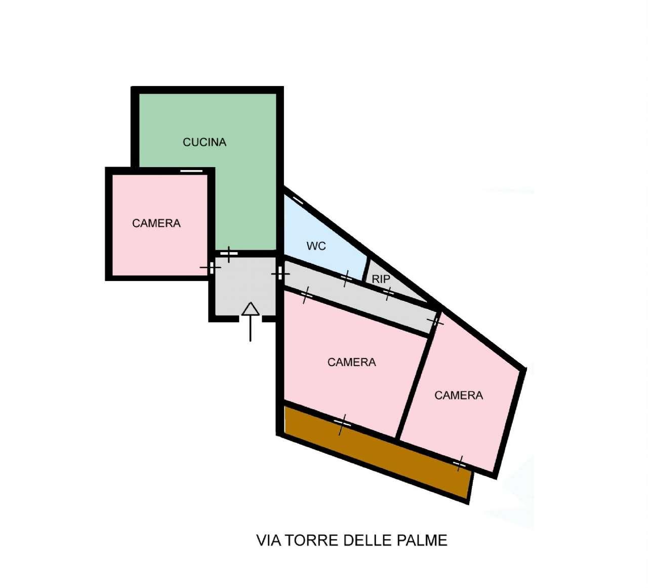 Appartamento in Vendita a Palermo:  3 locali, 100 mq  - Foto 1