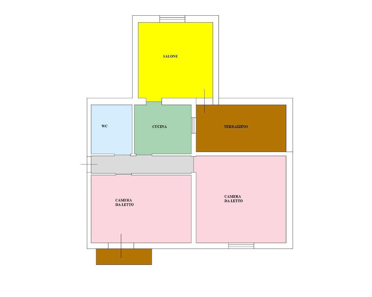 Appartamento in Affitto a Palermo: 3 locali, 70 mq