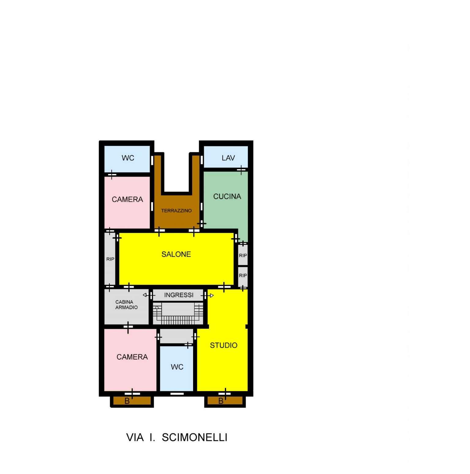 Appartamento in Affitto a Palermo: 5 locali, 170 mq