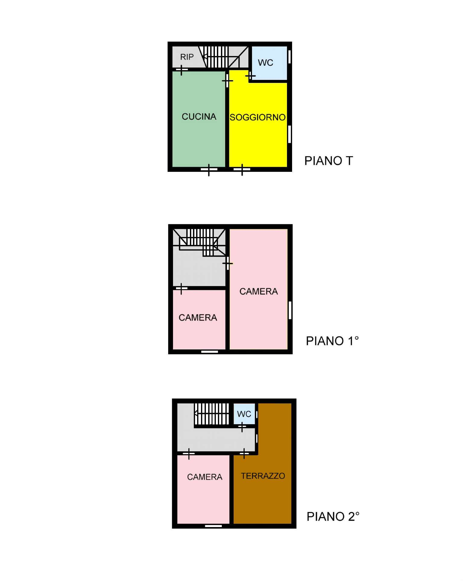 Casa indipendente in Vendita a Ustica: 5 locali, 90 mq