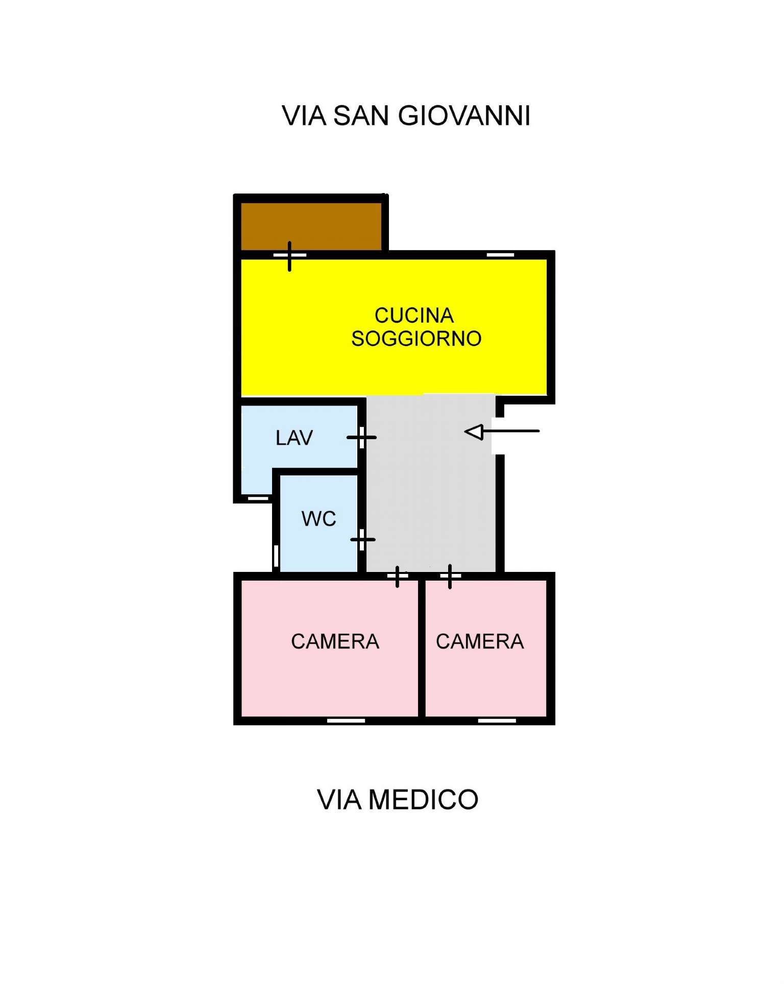 Appartamento in Vendita a Ustica: 3 locali, 75 mq