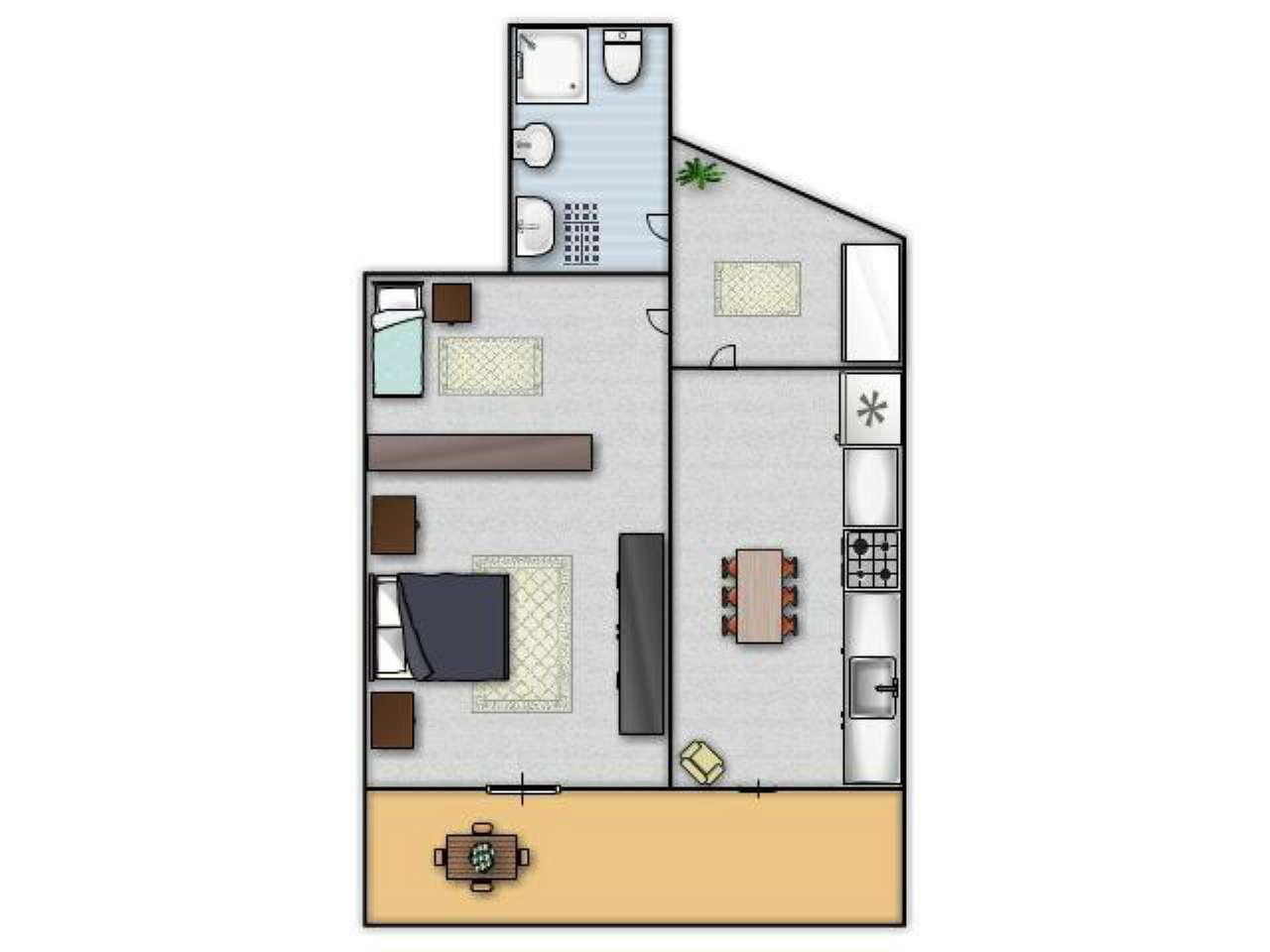 Appartamento in Affitto a Ustica: 2 locali, 70 mq